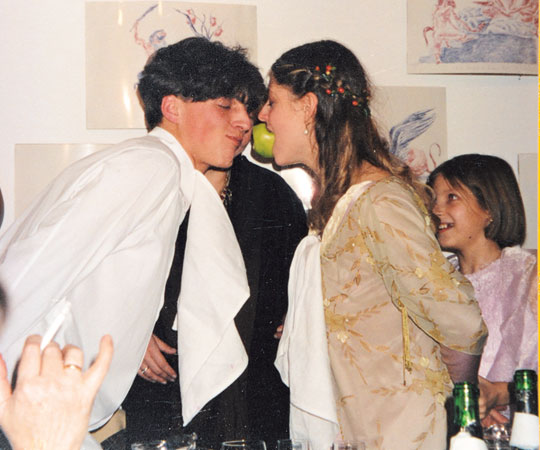 Институт благородных девиц: свадьба с антикварным кольцом