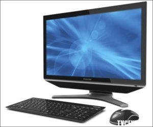 Развлекательный моноблок Toshiba DX735