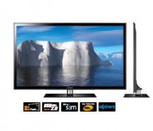 Большие и маленькие LED-телевизоры Samsung D5000
