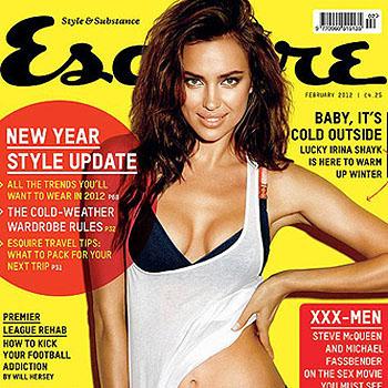 Принципы Ирины Шейк в журнале Esquire
