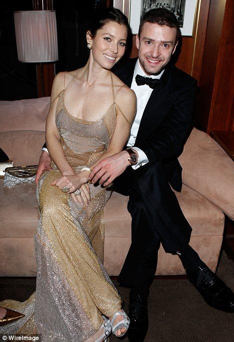 Джастин Тимберлейк и Джессика Бил счастливы вместе!
