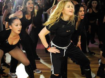 Фитнес в стиле Мадонны