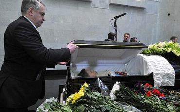 Ирину Пороховщикову похоронили рядом с родителями