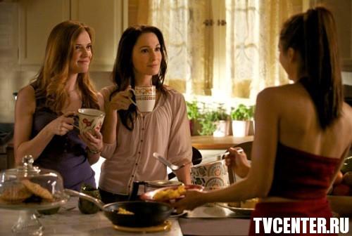The Vampire Diaries: Тетя Дженна возвращается. Фото