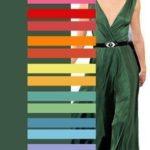 Как правильно сочитать цвета в одежде?