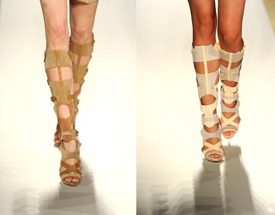 Красивое и удобное обувное Лето-2013