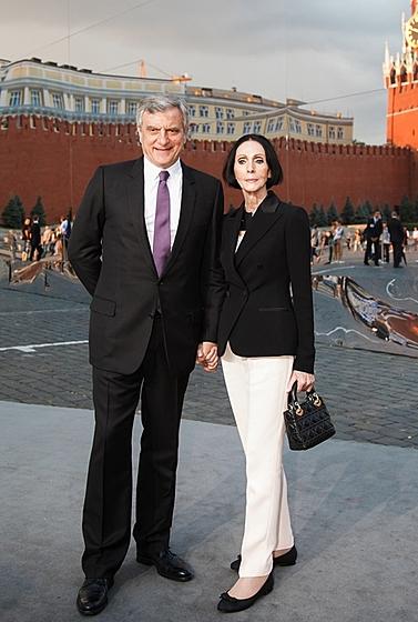 Президент Сhristian Dior Сидни Толедано