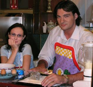 Александр Дьяченко с женой Верой