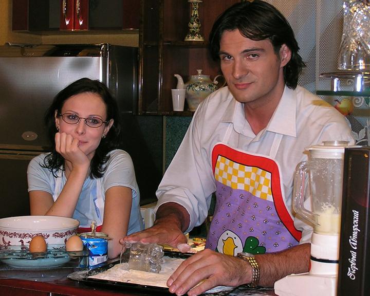александр дьяченко личная жизнь фото жены
