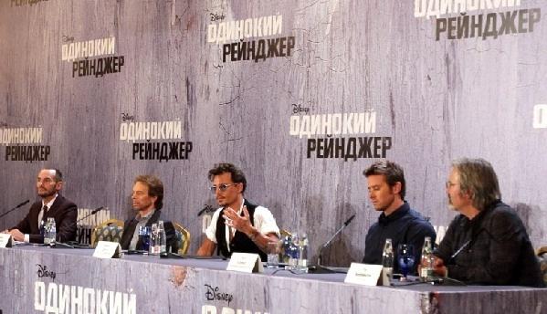 Джонни Депп в Москве