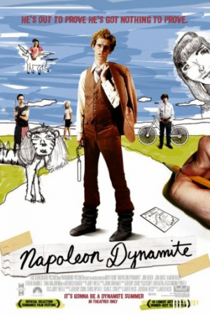 Наполеон Динамит (2004 год) Затраты - 391 тысяча $ Доходы - 45 млн $