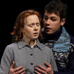 Шамиль Хаматов и его жена на спектакле