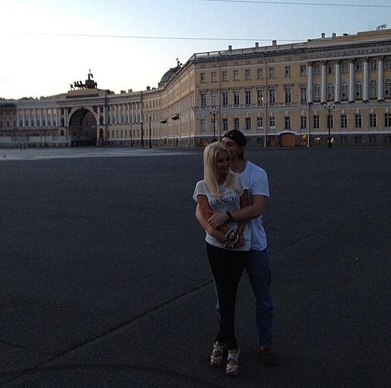 Роман Леры и Игоря начинался в Санкт-Петербурге