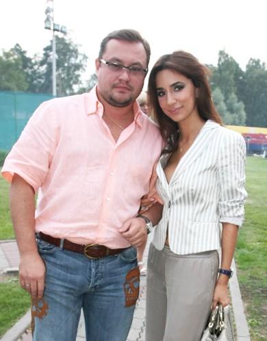 Зара со своим нынешним мужем Сергеем Ивановым