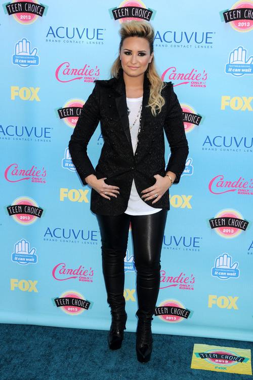 Деми Ловато на премии Teen Choice Awards