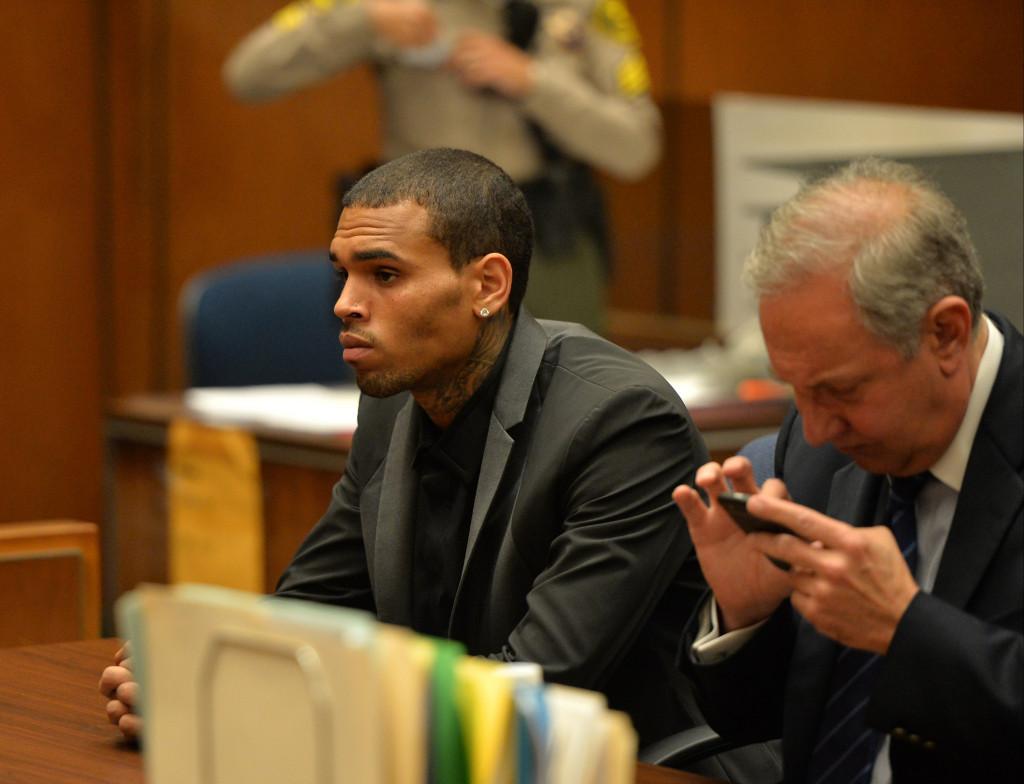 Крис Браун на суде