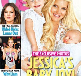 Джессика Симпсон показала новорожденного сына