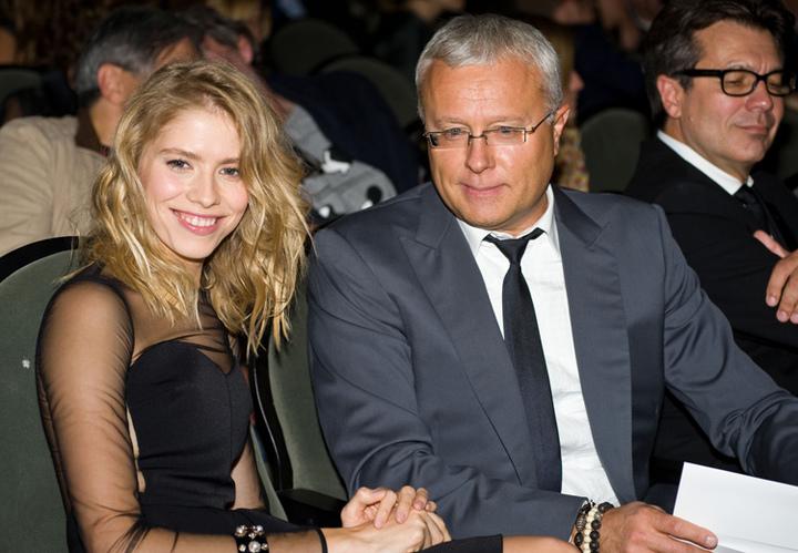 Александр Лебедев и Елена Перминова