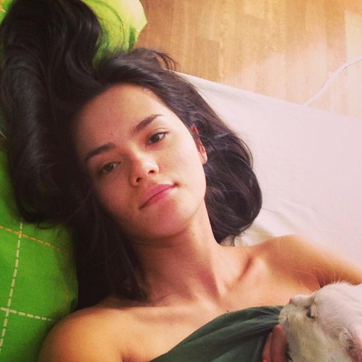 Катя Ли без макияжа
