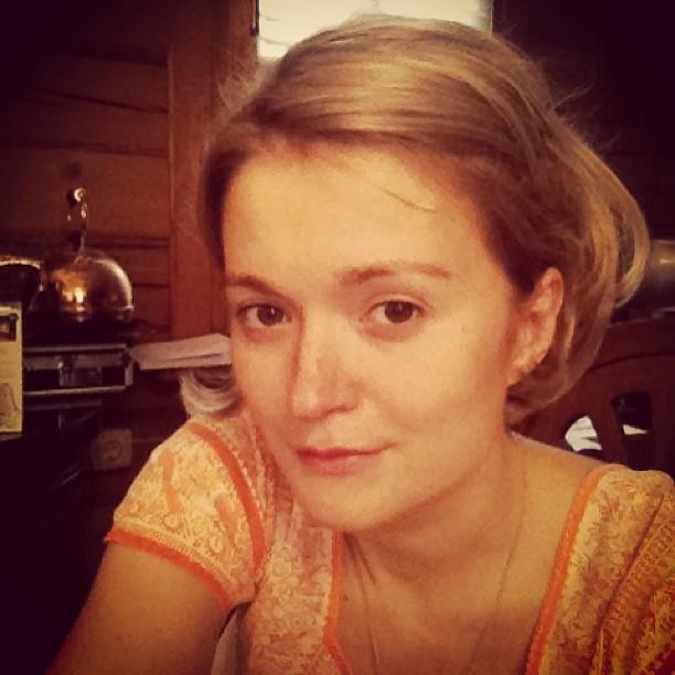 Надежда Михалкова без макияжа
