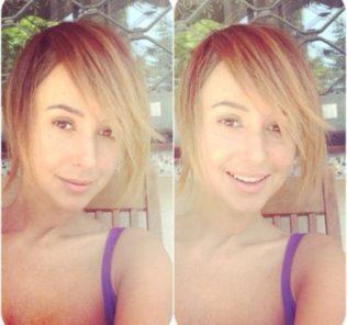 Яна Станишевская перекрасилась в блондинку