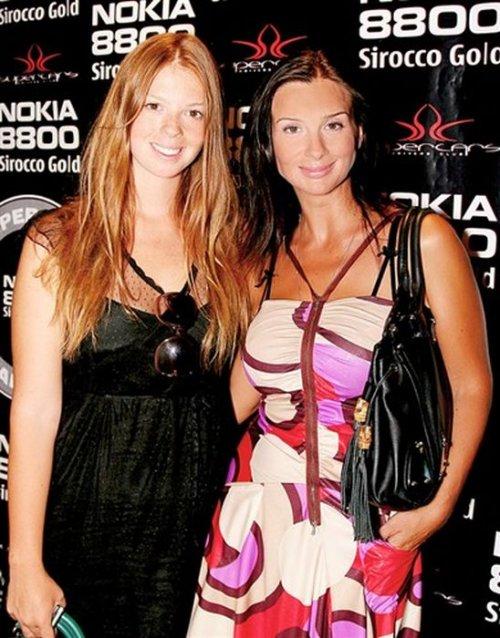 Екатерина Стриженова с дочерью Анастасией