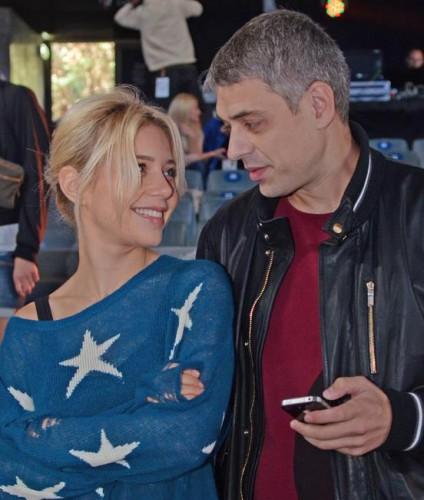 Тина Кароль с мужем при жизни