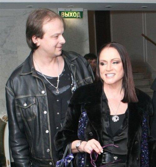 София Ротару с сыном.