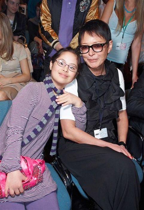 Ирина Хакамада с дочерью.