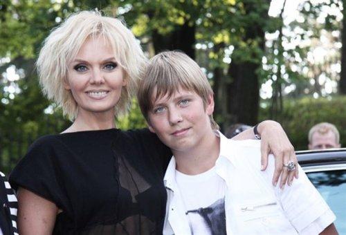 Валерия с сыном.