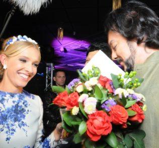 Филипп Киркоров и Катя Осадчая на тусовках