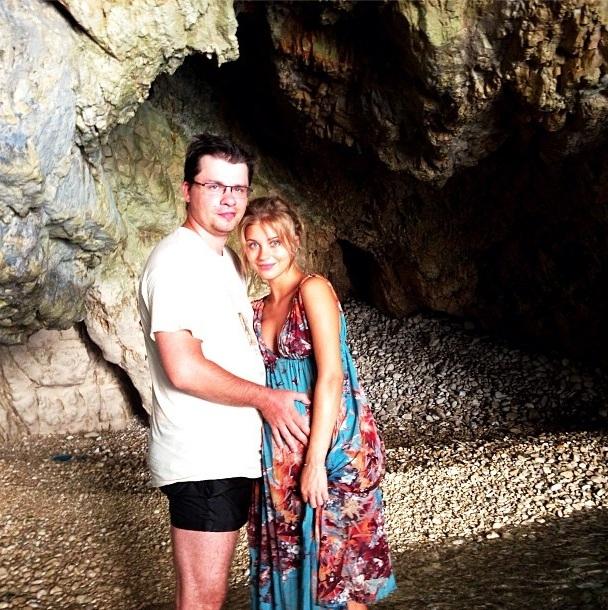 Асмус и Харламов на отдыхе в Греции