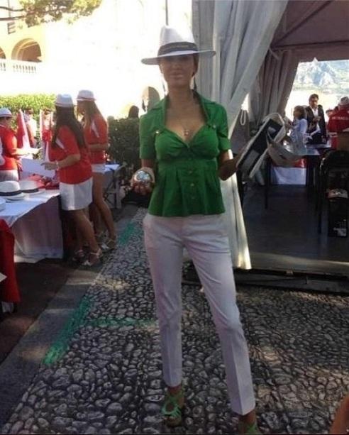 Боня отправилась на соревнования по петанку