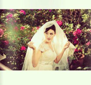 Маша Собко фотосессия в подвенечном платье