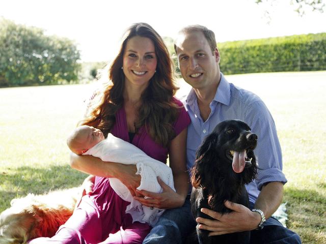 Кейт Миддлтон и принц Уильям объявили: Принца Георга окрестят 23 октября