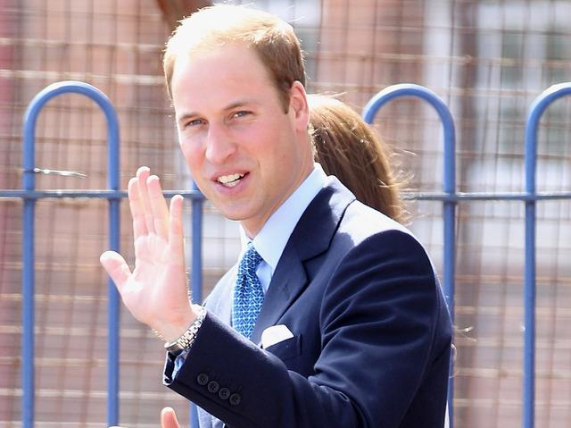 Принц Уильям снялся в рекламе