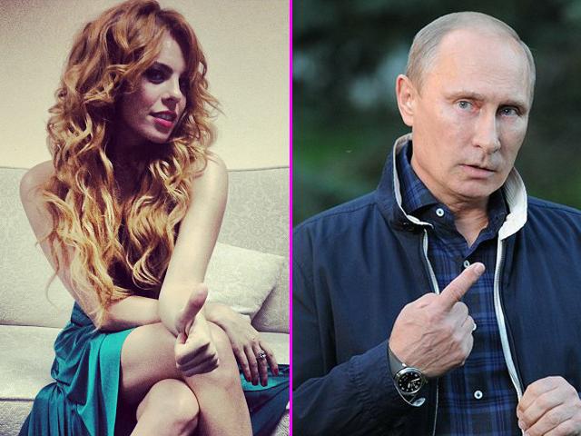 Певица Анастасия Стоцкая решила своеобразно поздравить Владимира Путина