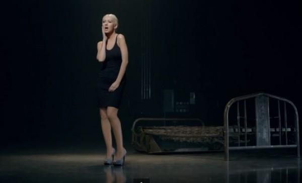 Кристина Агилера, похудев на 30 кг, снялась в новом клипе