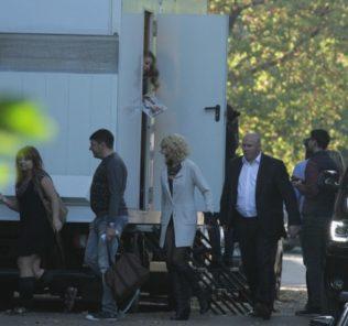 Кароль и Орбакайте делили в Киеве гримерную на колесах