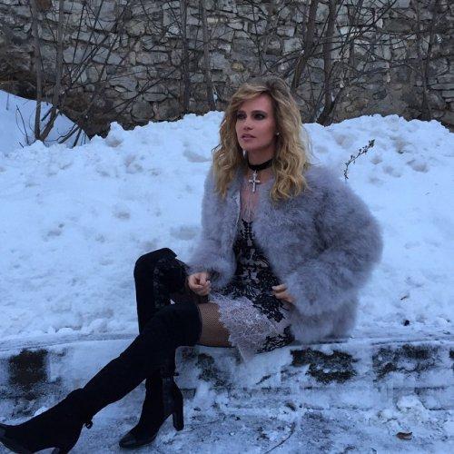 Певица Глюкоzа отдохнула в горах