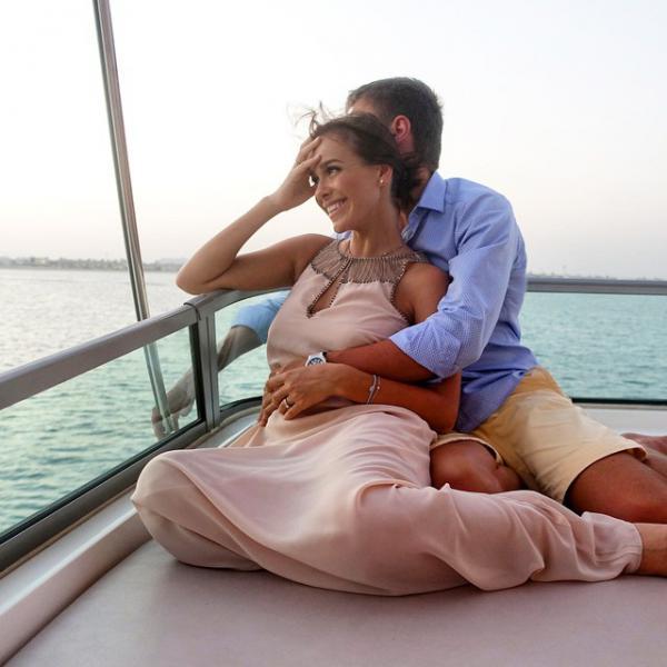 Елена Темникова встретила Новый год на Мальдивских островах