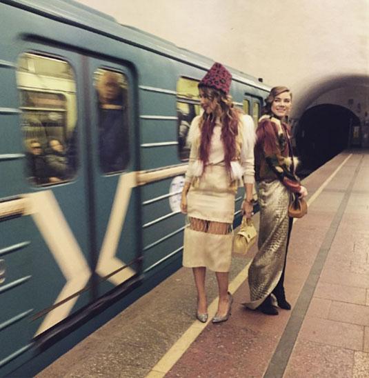 Ксения Собчак шокировала своим видом пассажиров московской подземки