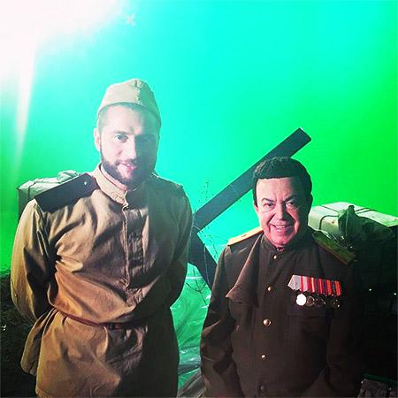 Пирцхалава и Кобзон записали песню-посвящение ветеранам