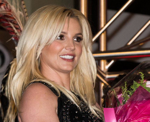 Britney Spears Arrives In Las Vegas