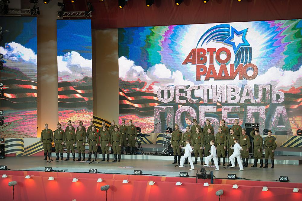 Авторадио и канал НТВ подарили москвичам песни Победы