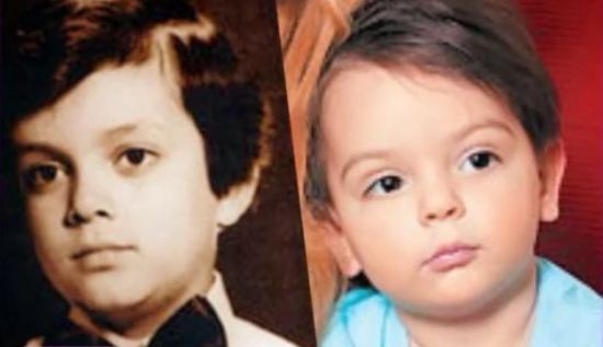 Фото отца Стоцкой, на которого безумно похож её сын