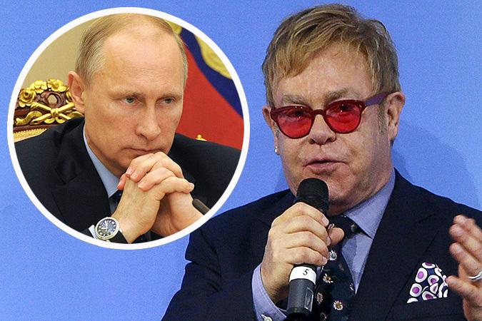 Элтон Джон рассказал о телефонном звонке Путина