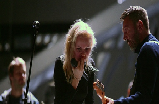 Алиса Бурмистрова и Сергей Шнуров