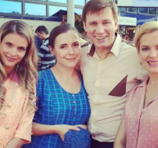 Актриса Мария Порошина готовится к четвертым родам