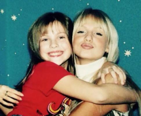 Эмилия и Виктория 10 лет назад